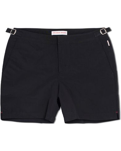 Orlebar Brown Bulldog Medium Length Swim Shorts Black i gruppen Badeshorts hos Care of Carl (12282911r)