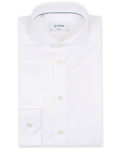 Eton Super Slim Fit Shirt Cutaway White i gruppen Skjorter / Formelle skjorter hos Care of Carl (12283911r)