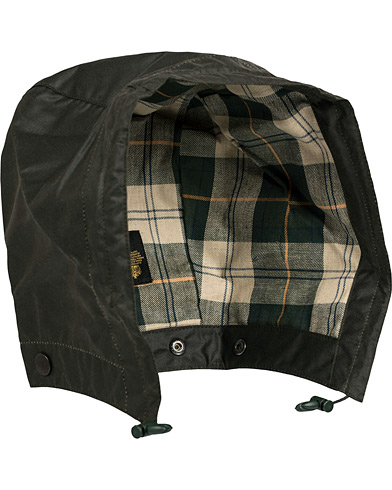 Barbour Lifestyle Waxed Cotton Hood Sage  i gruppen Jakker / Tilbehør jakker hos Care of Carl (12284510)