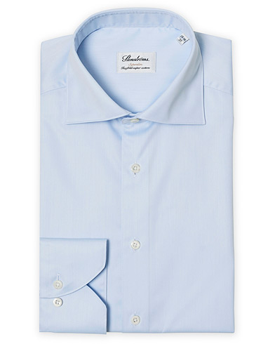 Stenströms Superslim Plain Shirt  Blue i gruppen Klær / Skjorter / Formelle skjorter hos Care of Carl (12289811r)
