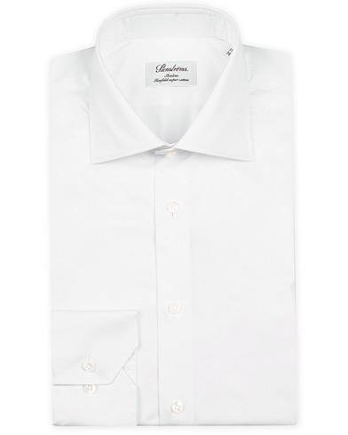 Stenströms Slimline Shirt White i gruppen Skjorter / Formelle skjorter hos Care of Carl (12290011r)