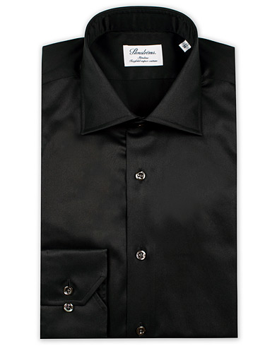 Stenstr�ms Slimline Shirt Black i gruppen Skjorter / Businesskjorter hos Care of Carl (12290111r)