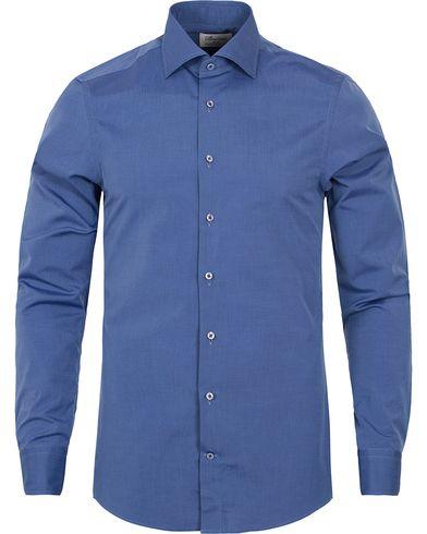 Stenstr�ms Slimline Shirt Navy i gruppen Skjorter / Businesskjorter hos Care of Carl (12290311r)