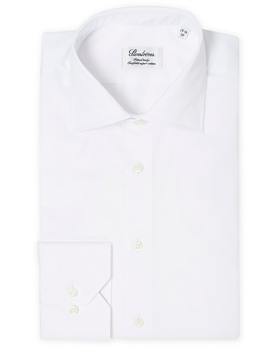 Stenströms Fitted Body Shirt White i gruppen Skjorter / Formelle skjorter hos Care of Carl (12290811r)