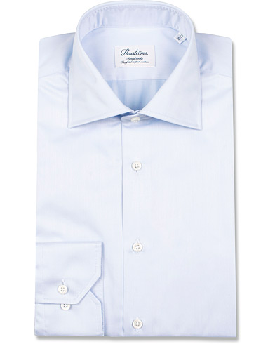Stenstr�ms Fitted Body Shirt Blue i gruppen Skjortor / Formella Skjortor hos Care of Carl (12290911r)