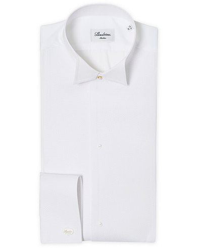 Stenströms Slimline Astoria Stand Up Collar Evening Shirt White i gruppen Klær / Skjorter / Smokingskjorter hos Care of Carl (12291511r)