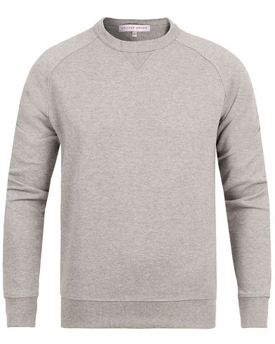 Orlebar Brown Fulton Sweatshirt Grey Melange i gruppen Klær / Gensere / Sweatshirts hos Care of Carl (12293111r)