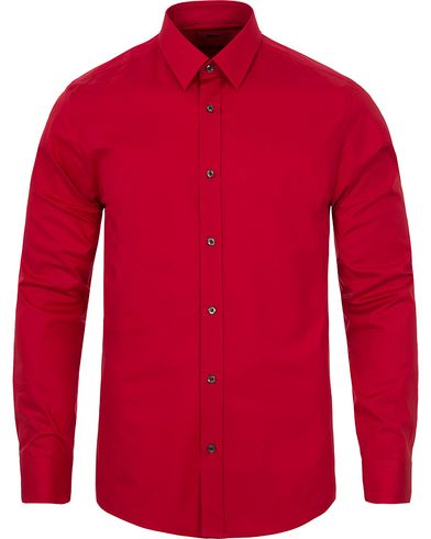 HUGO Elisha Slim Fit Shirt Bright Red i gruppen Skjorter / Casual skjorter hos Care of Carl (12295011r)