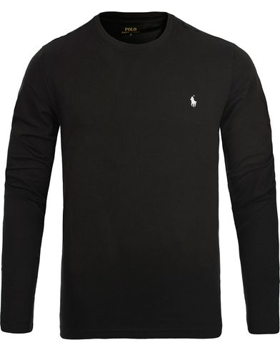 Polo Ralph Lauren Long Sleeve Tee Black i gruppen Kläder / Underkläder / Pyjamas / Pyjamaströjor hos Care of Carl (12296011r)
