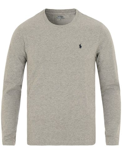 Polo Ralph Lauren Long Sleeve Tee Heather Grey i gruppen Underkläder / Pyjamas / Pyjamaströjor hos Care of Carl (12296111r)