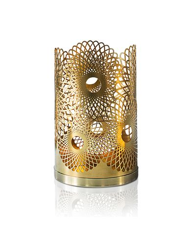 Skultuna Feather Candle Holder Brass  i gruppen Assesoarer / Livsstil hos Care of Carl (12298010)