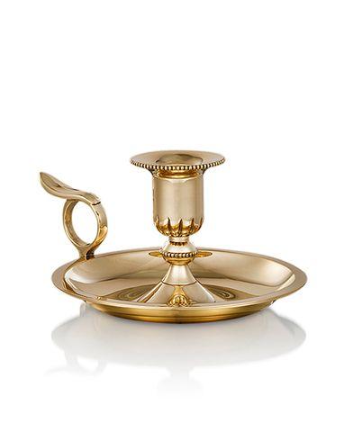 Skultuna Chamber Candlestick Brass  i gruppen Assesoarer / Livsstil / Til hjemmet hos Care of Carl (12298710)