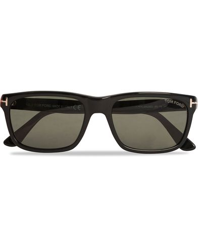 Tom Ford Hugh FT0337 Sunglasses Black  i gruppen Assesoarer / Solbriller / Firkantede solbriller hos Care of Carl (12301910)