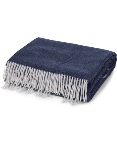 Lexington Home Superior Jacquard Cashmere Throw Blue  i gruppen Assesoarer / Livsstil / Til hjemmet hos Care of Carl (12303810)