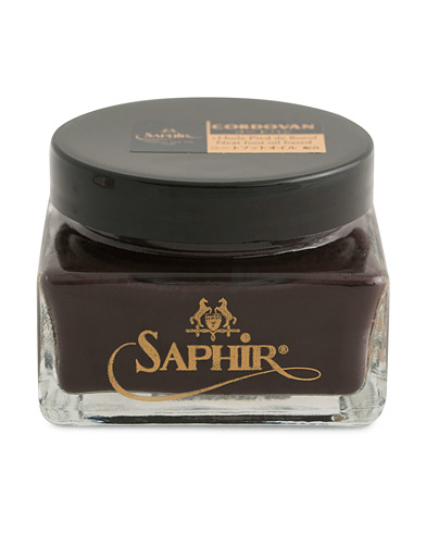 Saphir Medaille d'Or Cordovan Creame 75 ml Dark Brown  i gruppen Sko / Skopleie / Skopleieprodukter hos Care of Carl (12305310)