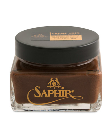 Saphir Medaille d'Or Creme Pommadier 1925 75 ml Medium Brown  i gruppen Sko / Skopleie / Skopleieprodukter hos Care of Carl (12305410)