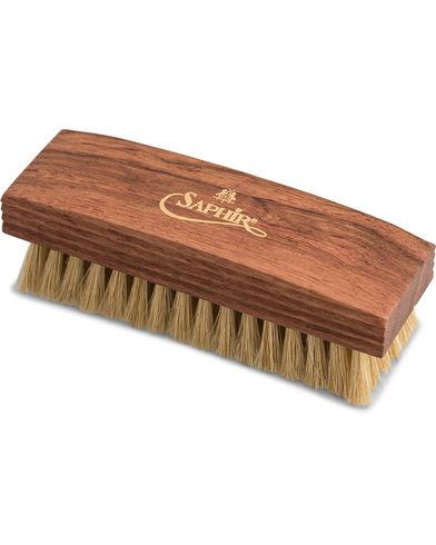 Saphir Medaille d'Or Gloss/Cleaning Brush Large White  i gruppen Skor / Skovård / Borstar och putsredskap hos Care of Carl (12306910)