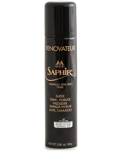 Saphir Medaille d'Or Renovateur Suede 250 ml Spray Neutral  i gruppen Sko / Skopleie / Skopleieprodukter hos Care of Carl (12307210)