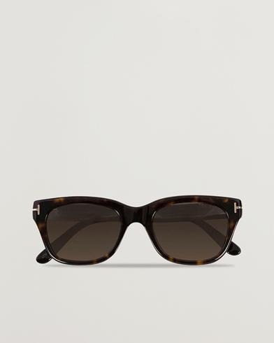 Tom Ford Snowdon FT0237 Sunglasses Havana  i gruppen Assesoarer / Solbriller / Buede solbriller hos Care of Carl (12307610)