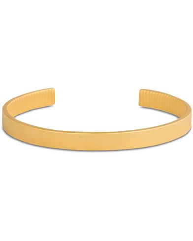 Skultuna The Bangle Bracelet Satin Gold i gruppen Assesoarer / Armbånd hos Care of Carl (12308310)