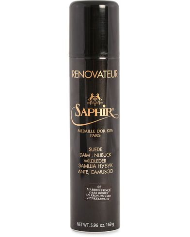 Saphir Medaille d'Or Renovateur Suede 250 ml Spray Dark Brown  i gruppen Sko hos Care of Carl (12308810)