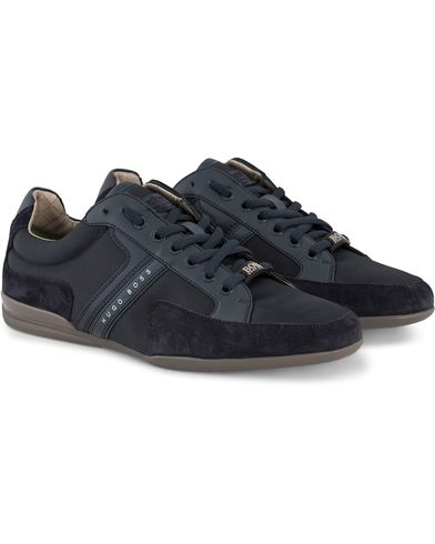 Boss Green Spacit Sneaker Navy i gruppen Sko / Sneakers / Sneakers med lavt skaft hos Care of Carl (12310411r)