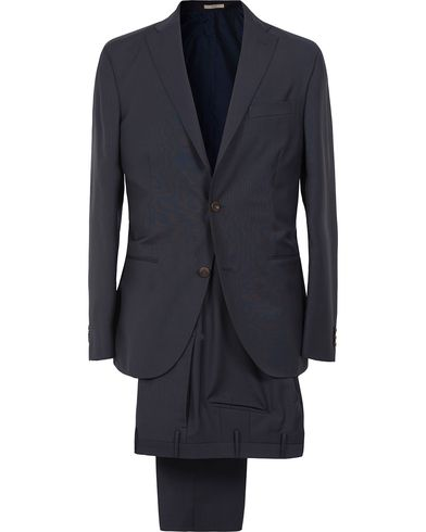 Boglioli Dover Wool Suit Navy i gruppen Kostymer hos Care of Carl (12310711r)