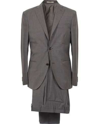 Boglioli Dover Wool Suit Grey i gruppen Kostymer hos Care of Carl (12310811r)