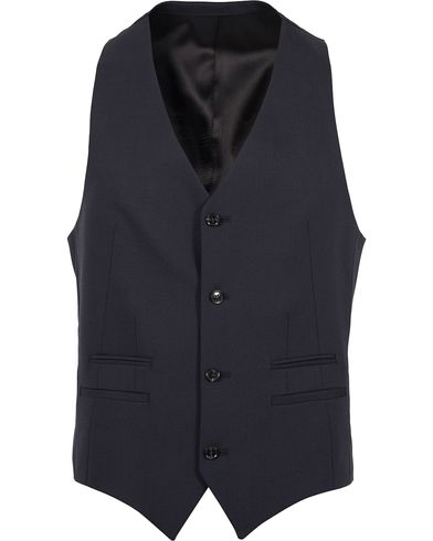 Tiger of Sweden Jeds Waistcoat Navy i gruppen Kavajer / Västar hos Care of Carl (12312911r)