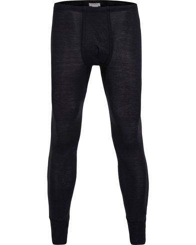 Hanro Long Johns Wool/Silk Antracite i gruppen Kläder / Underkläder / Pyjamas hos Care of Carl (12313111r)