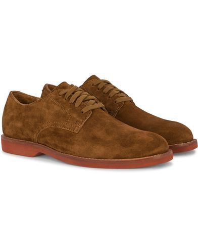 Polo Ralph Lauren Cartland Derby Suede Snuff  i gruppen Skor / Derbys hos Care of Carl (12400011r)