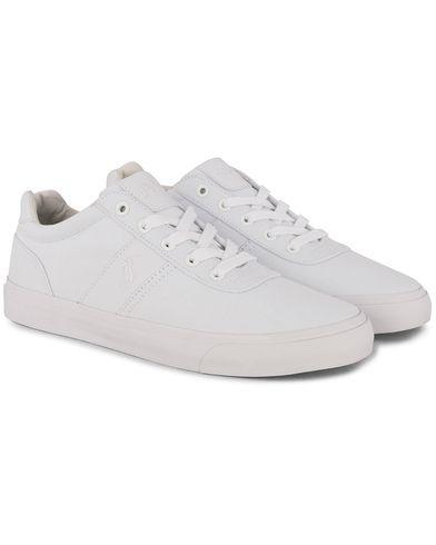 Polo Ralph Lauren Hanford Sneaker White Canvas i gruppen Skor / Sneakers / Låga sneakers hos Care of Carl (12401211r)