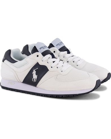 Polo Ralph Lauren Slaton Pony Running Sneaker White/Navy i gruppen Sko / Sneakers / Running sneakers hos Care of Carl (12402811r)