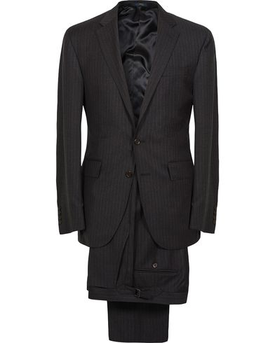 Polo Ralph Lauren Clothing Suit Pinstripe Charcoal/Cream i gruppen Kläder / Kostymer hos Care of Carl (12403111r)