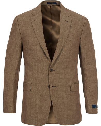 Polo Ralph Lauren Clothing Connery Linen Blazer Dark Tan i gruppen Klær / Dressjakker hos Care of Carl (12403311r)