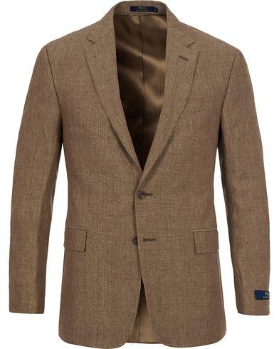 Polo Ralph Lauren Clothing Connery Linen Blazer Dark Tan i gruppen Kläder / Kavajer hos Care of Carl (12403311r)