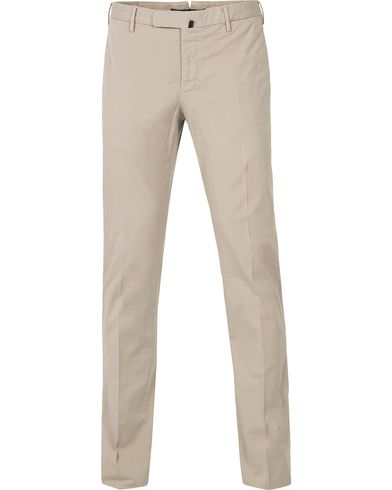 Incotex Slim Fit Stretch Chinos Kit i gruppen Kläder / Byxor / Chinos hos Care of Carl (12406011r)