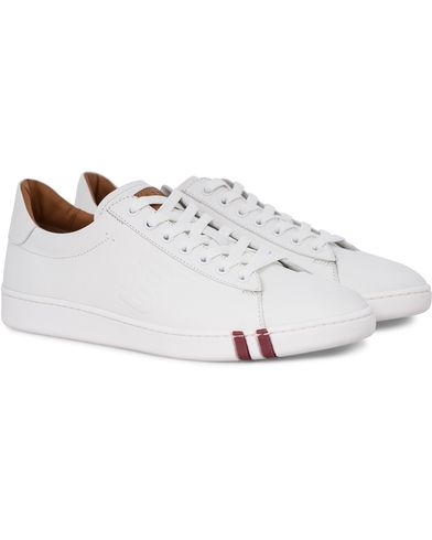 Bally Asher Sneaker White Calf i gruppen Skor / Sneakers / Låga sneakers hos Care of Carl (12407911r)