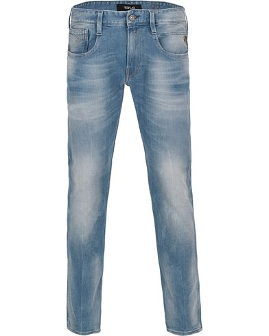 Replay M914 Anbass Jeans Light Blue i gruppen Jeans / Avsmalnende Jeans hos Care of Carl (12409311r)