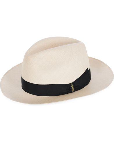 Borsalino Montechristi Extra Fine Panama Hat Natural i gruppen Assesoarer / Hatter hos Care of Carl (12417911r)