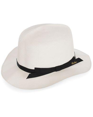 Borsalino Montechristi Rollable Panama Hat White  i gruppen Assesoarer / Hatter hos Care of Carl (12418411r)