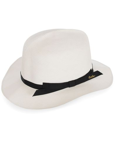 Borsalino Montechristi Rollable Panama Hat White  i gruppen Accessoarer / Hattar hos Care of Carl (12418411r)