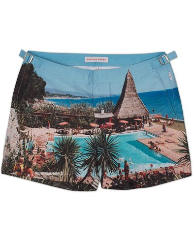 Orlebar Brown Setter Hulton Getty Swim Shorts Thatching a Plan i gruppen Kläder / Badbyxor hos Care of Carl (12418511r)