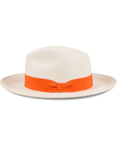 Frescobol Carioca Panama Hat Orange Ribbon i gruppen Assesoarer / Caps / Hatter hos Care of Carl (12421411r)