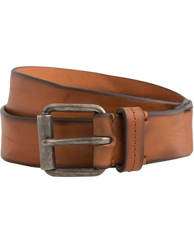 Tiger of Sweden Guido Leather Belt 3,5 cm Brown i gruppen Assesoarer / Belter / Umønstrede belter hos Care of Carl (12425611r)