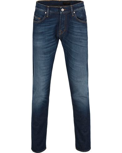 Tiger of Sweden Jeans Pistolero Raised Jeans Washed Blue i gruppen Klær / Jeans / Avsmalnende jeans hos Care of Carl (12427711r)