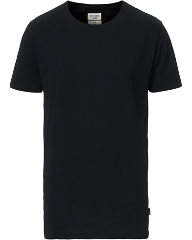 Tiger of Sweden Jeans Corey Solid Tee Black i gruppen T-Shirts / Kortermede t-shirts hos Care of Carl (12429911r)