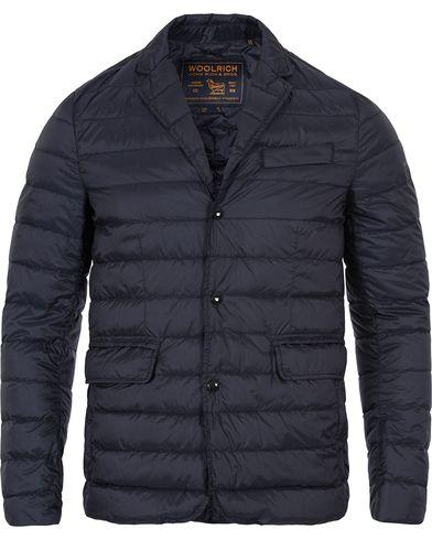 Woolrich Sundance Blazer Blue/Navy i gruppen Kläder / Jackor / Vadderade jackor hos Care of Carl (12434911r)