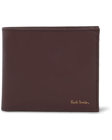 Paul Smith Multistripe Billfold Wallet Chocolate  i gruppen Assesoarer / Lommebøker / Vanlige lommebøker hos Care of Carl (12438510)