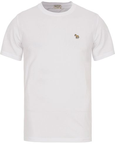PS by Paul Smith Regular Fit Logo Tee White i gruppen Kläder / T-Shirts / Kortärmade t-shirts hos Care of Carl (12440111r)